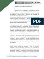 II. Informacion Basica de Ingenieria