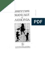 Studiare l'Armonia