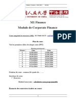 M1 Finance GF Plaquette Exercices Cours