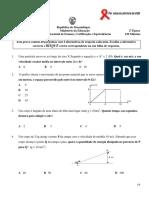 Exame de fisica