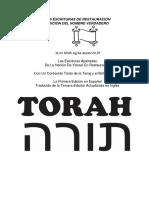 Torah-De Yhwh Hebreo-español22 Fuente 14 a4