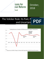 AFR Education Fund Volcker Rule Report October 2018