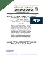 Massone Et Llull 2015 Análisis y Eficacia de Las Intervenciones
