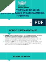 Modelo y Sistemas de Salud 2019