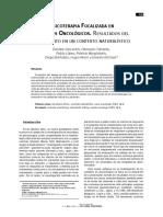 Gercovich Et Al 2011 Psicoterapia Focalizada en Pac Oncolog