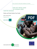 1916 Evaluating the EUs Role and Challenges in Sudan and South Sudan