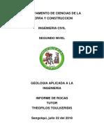 Reporte Rocas