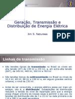 TRANSMISSÃ_O E GERAÃ_Ã_O DE ENREGIA