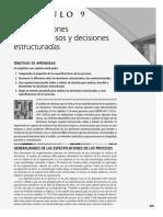 Especificaciones de Procesos y Decisiones