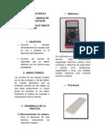 practica multimetro fisica II