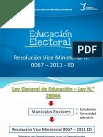 Educación Electoral