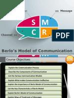 Berlo Model of Communication Demo