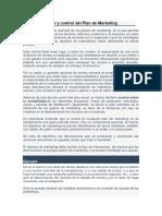 Tema 1- Seguimiento y Control Del Plan de Marketing