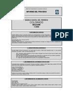 Informe Del Proceso Colorado 2000
