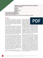 Micro Aprendizaje Resumen Congreso IEI 2018-138