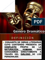 Género-dramático- PPT