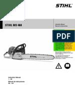 STIHL MS 460 Manual