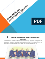 Como Crear Una Cooperativa en Colombia