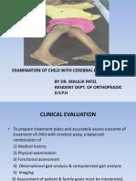 Examination of the Child With Cerebralpalsy