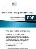 chapmans undocumented student conference public charge