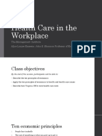 Economic Principles for the Workplace