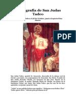 biografia de san judas tadeo