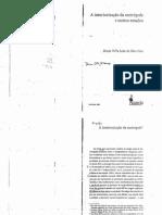 Maria Odila - A interiorização da metrópole