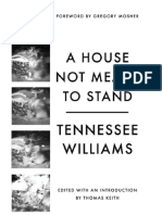 A house not meant to stand, de Tennessee Williams