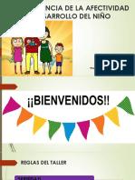 Importania de La Afectividad en El Desarrollo de Los Hijos