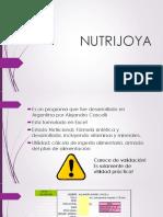 Clase Nutrijoya- Sara
