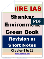Shankar IAS Environment revision notes
