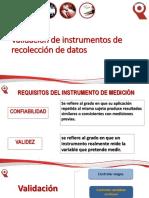 Clase 4. Validacion de Instrumentos