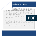 10-Slide Pitch Deck Template