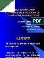 Clase 1. Organizacion Sistema Hospitalario e Inserción Servicios Farmacéuticos-2016