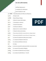 Liste Des Abréviation 1