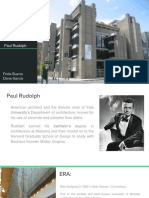 Yale Art and Architecture Building Paul Rudolph