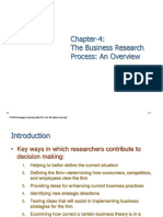 BRM Types and Process of Research