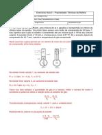 Lista de Exercicios Aula 5 Fisica Termodinamica e Ondas
