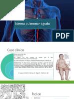 Presentación Edema agudo pulmón