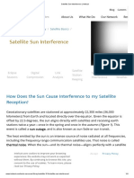Satellite Sun Interference _ Intelsat