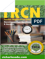 Teacher Registration Council of Nigeria TRCN Past Questions and Answers