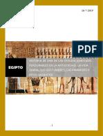 Egipto  y su Historia