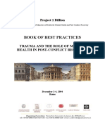 Book of Best Practices Trauma and the Role of Mental Health in Post-conflict Recovery