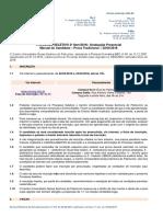 Manual Prova Tradicional CEUNSP Abril