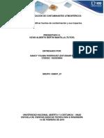 Caracterización de Contaminantes Atmosféricos