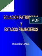 ecuacion patrimonial