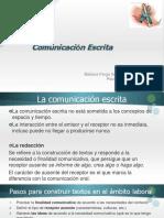 I. Comunicación Escrita