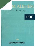 Șalom Alehem-Tevi lăptarul 1961 BPT 59