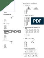 Lógico Matemático 01 de Octubre