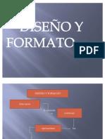 diseño y formato